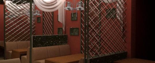 Дизайн бара-кафетерия.