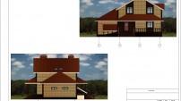 Проект дома фасады