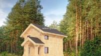 Дом-баня для летнего проживания