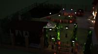 Вид ночью. Ландшафт