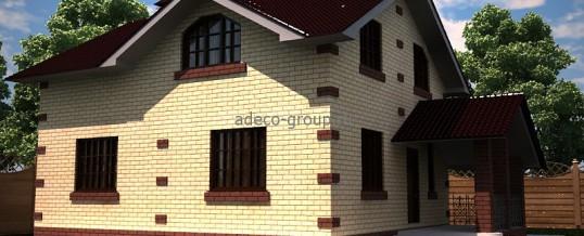 Мансардный дом 117м2