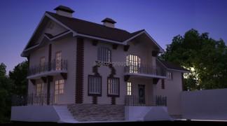 Строительство элитного дома. Монолит. 2012г.