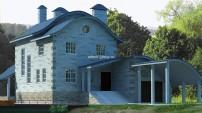 Эксклюзивный проект дома с бассейном