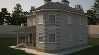Проект дома для четверых