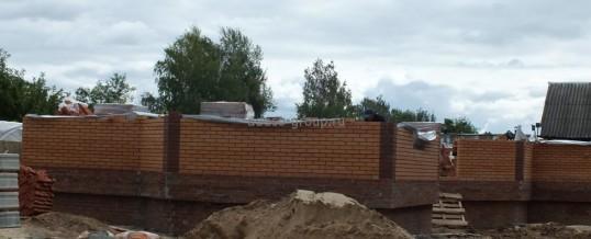 """Строительство одноэтажного дома в пос. """"Садовый"""", 2012г."""
