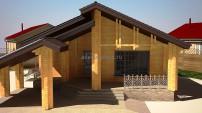 Одноэтажный проект дома
