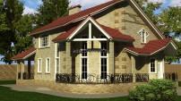 Внешне простой дом