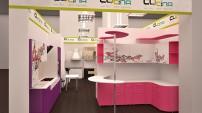 Дизайн 3D магазина кухонь