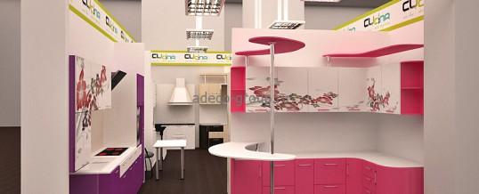 Дизайн салона кухонь CUcina