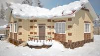 Зимний вид дома