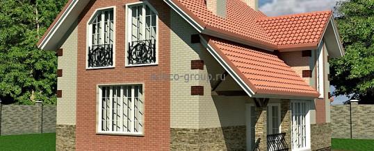 Мансардный дом до 140 м2