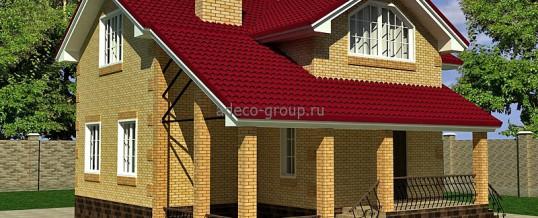 Проект мансардного дома с подвалом до 160м2