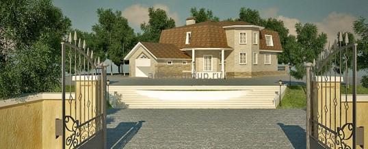 """Проект дома в стиле """"Ампир"""""""