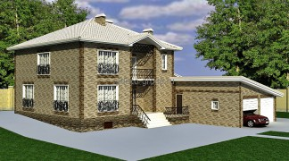 Проект дома в г. Лаишево