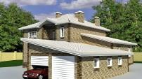 Удлиненный гараж