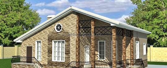 Элитный одноэтажный дом