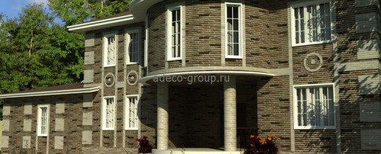Проект дома 450 кв.м. с бассейном