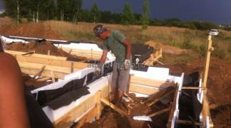 Вибрование бетона