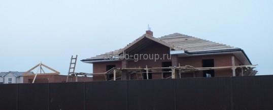 Строительство одноэтажного дома пос. Кульсеитово 2013г.