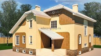 Дом под штукатурку, Казань