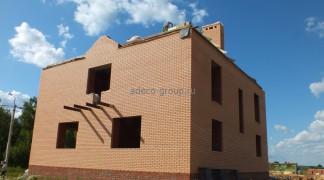 Стены дома готовы июнь 2014 г.