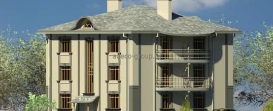 Трехэтажные многоквартирные дома, г. Казань