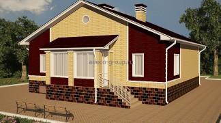 Одноэтажный дом, г. Казань, пос. Салмачи