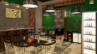 Дизайн небольшого кафе, г. Казань