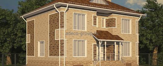 Двухэтажный дом с баней. Ометьево, Казань