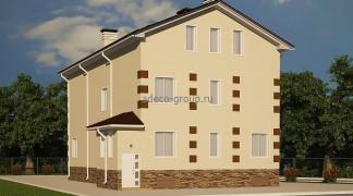 Проект дома-гостиницы, Казань