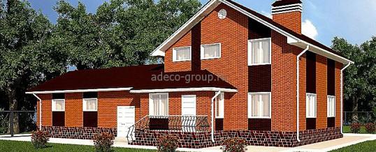 Мансардный дом с большим гаражом, н. Тура